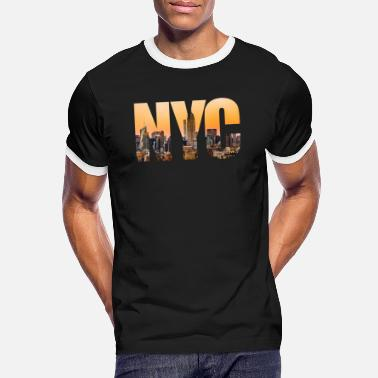 New York City - Männer Ringer T-Shirt