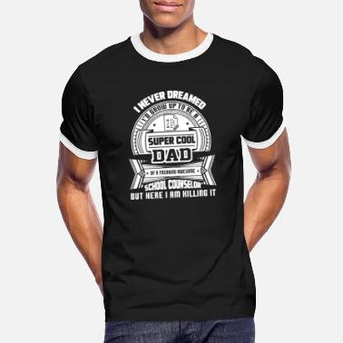 Schulberater Super Cool Dad Of School Counse - Männer Ringer T-Shirt