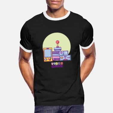 Video Gaming video games 90s video games - Men's Ringer T-Shirt