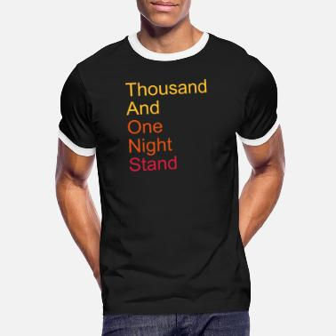 Witty thousand and one night stand 3colors - Men's Ringer T-Shirt