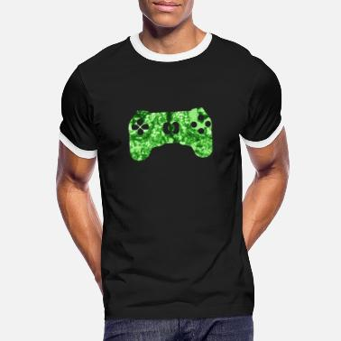 Humour Funny saying gaming zone area - Men's Ringer T-Shirt