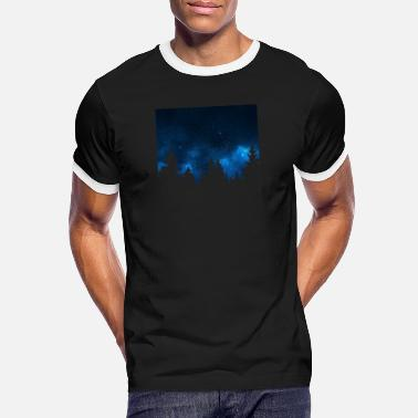 Skyrim night sky - Männer Ringer T-Shirt