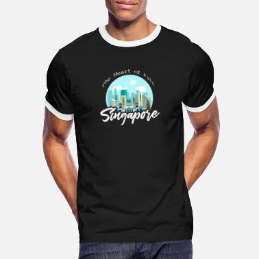 Singapore Singapore - Men's Ringer T-Shirt