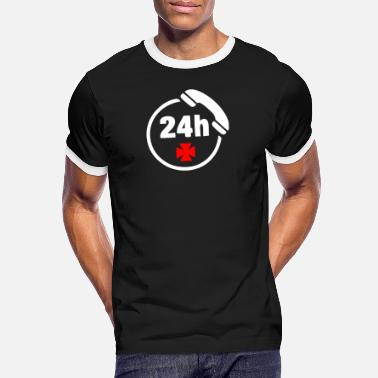 Emergency Call Emergency call 24h - Men's Ringer T-Shirt