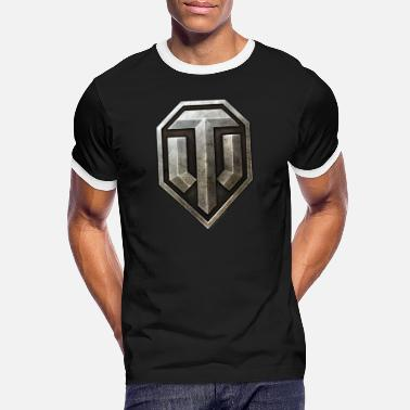Wot16 World of Tanks Logo - Men's Ringer T-Shirt