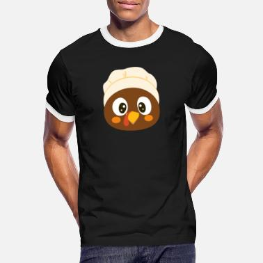 Dinde De Thanksgiving dinde de Thanksgiving - T-shirt contrasté Homme
