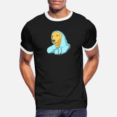 cool dog - Men's Ringer T-Shirt