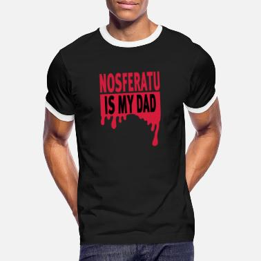 Nosferatu Nosferatu Is My Dad - Men's Ringer T-Shirt