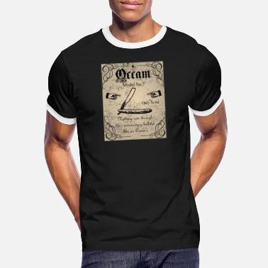 Advert Occam's Razor - Men's Ringer T-Shirt