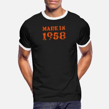 1958 Made in 1958 - Männer Ringer T-Shirt