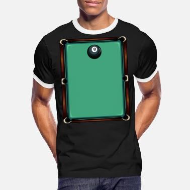 Pool Table pool table - Men's Ringer T-Shirt
