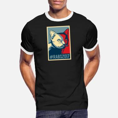 spreadshirt obama 02 png - T-shirt contrasté Homme
