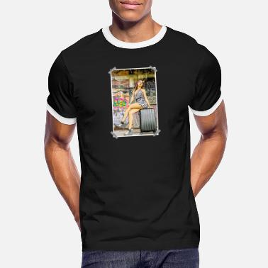 Pin-up pinup - T-shirt contrasté Homme