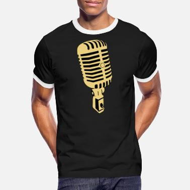 Microphone microphone - Men's Ringer T-Shirt