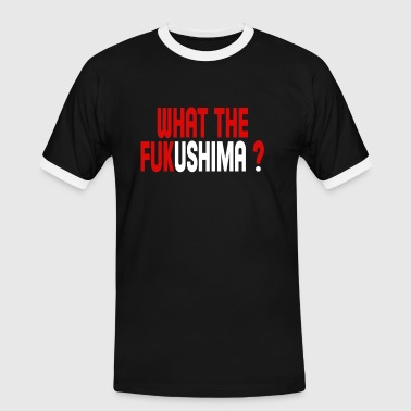 WHAT THE FUKUSHIMA ? - Mannen contrastshirt