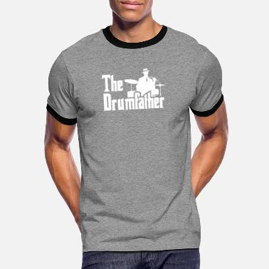 Performance The Drumfather Funny Gift For Drummer design - Men's Ringer T-Shirt