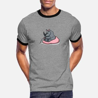 Payer rhino payer rhino - T-shirt contrasté Homme