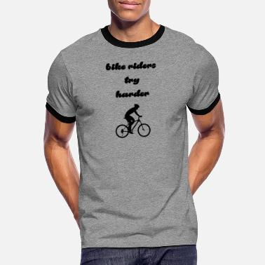Kappa Alpha Psi bike riders - Men's Ringer T-Shirt