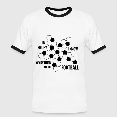 Football - Herre kontrast-T-shirt