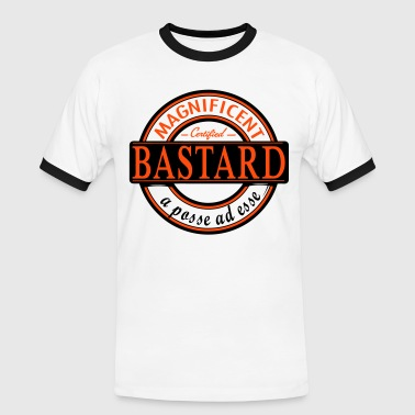 bastard label t-shirt - Men's Ringer Shirt