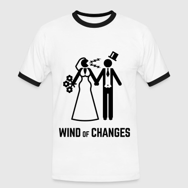 Wind Of Changes (Stag Night Bachelor Party Groom) - Men's Ringer Shirt