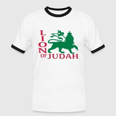 lion of judah - T-shirt contrasté Homme