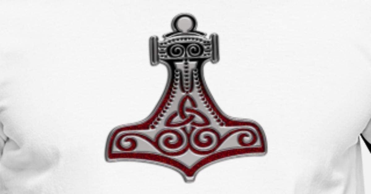 Thors Hammer Mjolnir Mjölnir Mjöllnir Schutz Amulett Symbol