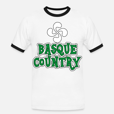 Basque Country basque country 01 - Men's Ringer Shirt