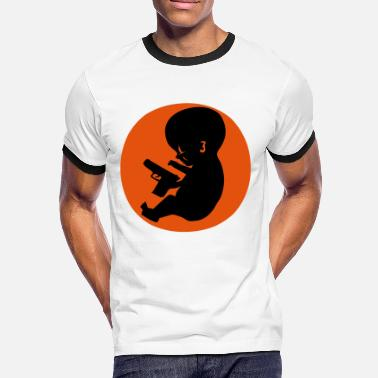 Embryo Embryo Gun Control - Men's Ringer Shirt