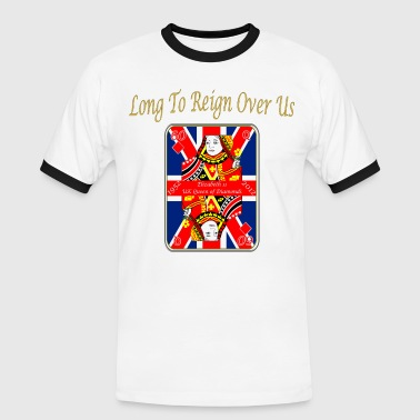Jubilee queens diamond jubilee reign over us - Men's Ringer Shirt