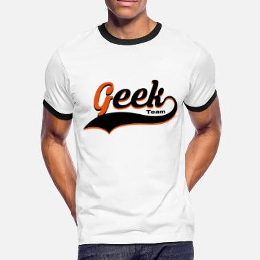 Vector Design geek vector design - T-shirt contrasté Homme