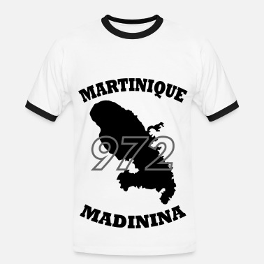 Martinique 972 972_Martinique_black - T-shirt contrasté Homme