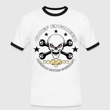 Chief engineer 02 - Männer Kontrast-T-Shirt