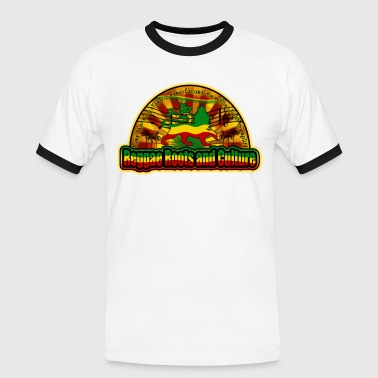reggae roots and culture easy skanking - Men's Ringer Shirt