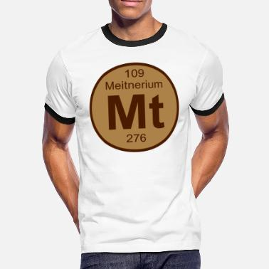 Mt Element Meitnerium (Mt) (element 109) - Men's Ringer Shirt