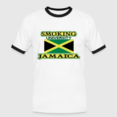 smoking university jamaica - Camiseta contraste hombre