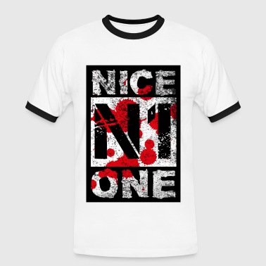 N1 - Nice One - Gamer - Men's Ringer Shirt