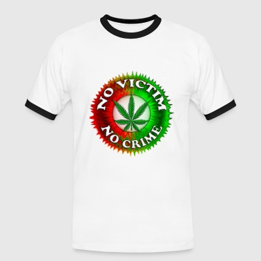 No Crime 420 - Men's Ringer Shirt