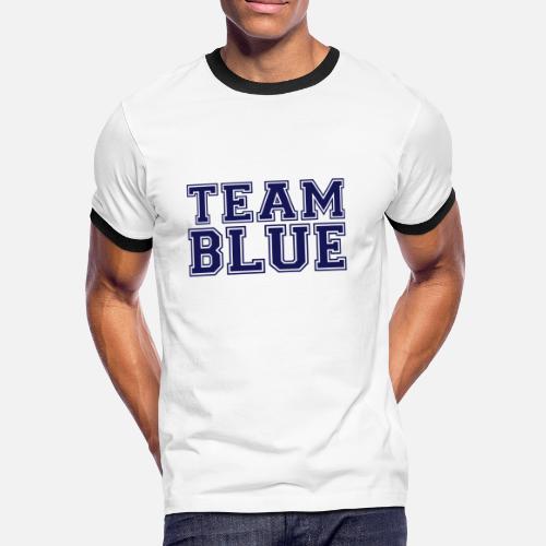 652b1ee1703ed TEAM BLUE - equipo azul Camiseta contraste hombre