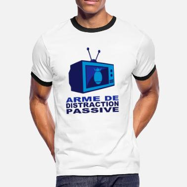 Arme de distraction passive - T-shirt contrasté Homme