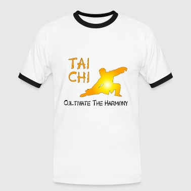 Tai Chi - Cultivate The Harmony - Men's Ringer Shirt