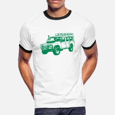 Land Rover Land Rover Defender, Jeep, SUV - Men's Ringer T-Shirt