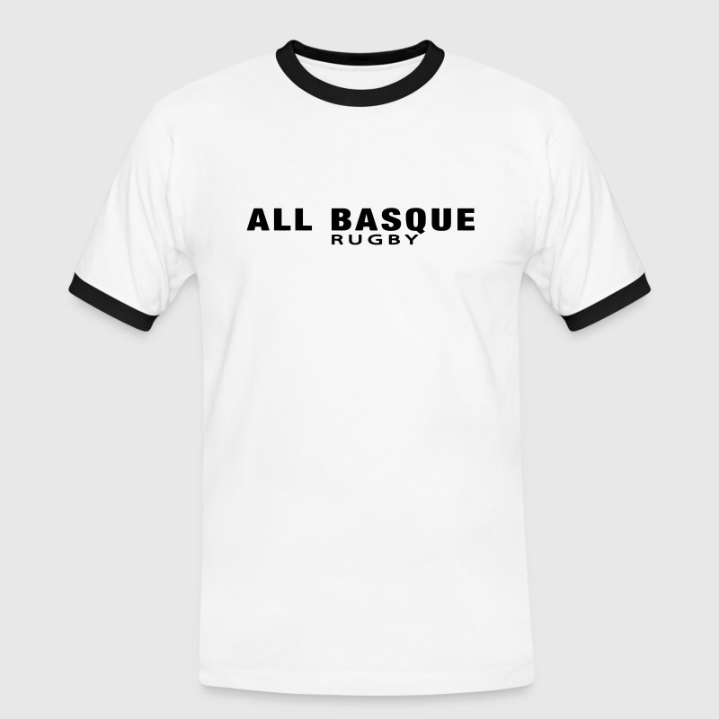 ALL BASQUE rugby v1 (1c) - T-shirt contrasté Homme