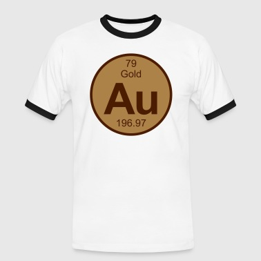 Gold (Au) (element 79) - Men's Ringer Shirt