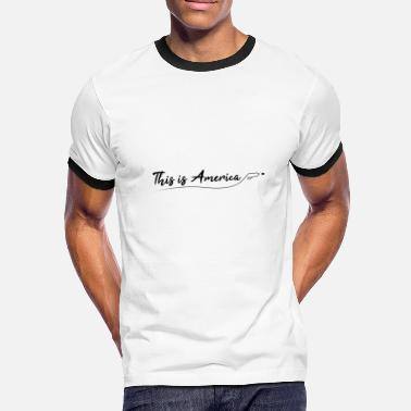 Childish Gambino This is America - Gun violence - Men's Ringer T-Shirt