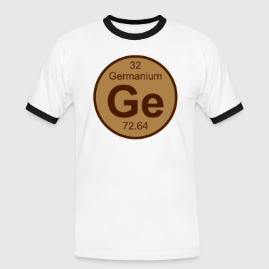 Germanium (Ge) (element 32) - Men's Ringer Shirt