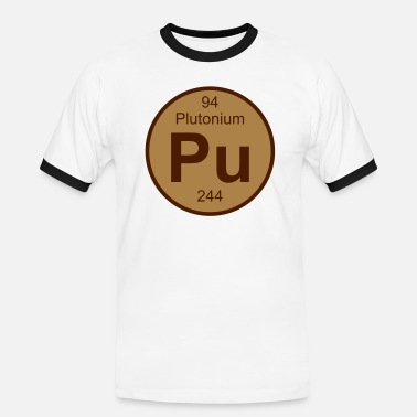 Plutonium Plutonium (Pu) (element 94) - Men's Ringer Shirt
