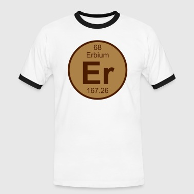 Erbium (Er) (element 68) - Men's Ringer Shirt