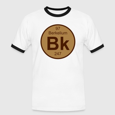 Berkelium Berkelium (Bk) (element 97) - Men's Ringer Shirt