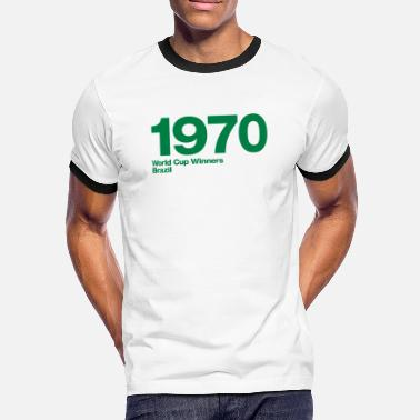 1970 Brazil - Men's Ringer Shirt